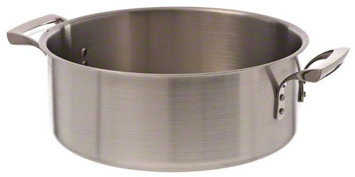 Browne Foodservice (5724014) 15 Quart Stainless Brazier, Silver food service warehouse 57 24014