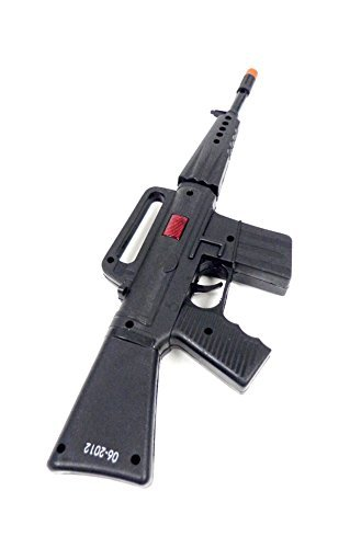 Plastic Machine Gun M16 Boy Toy as Military Army Soldier Gun Fire Sound (Military Toy Guns)