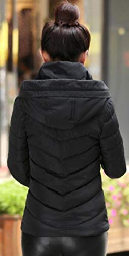 1 Jacket Women's Collar Quilted Coat Stand Warm EKU Cotton Parka Winter Down H7xWqZ