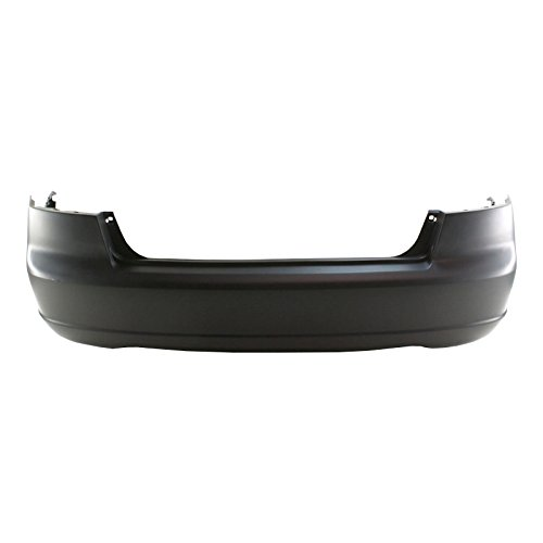 MBI AUTO Painted To Match, Rear Bumper Cover for 2001 2002 2003 Honda Civic Sedan & Hybrid 01 02 03, HO1100200