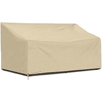 Amazon Com Sunpatio Outdoor Bench Cover 80 Inch Heavy
