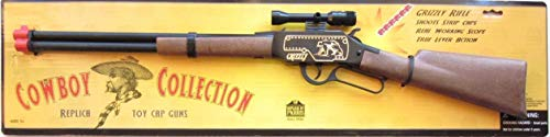 - Big Game Toys~Grizzly Toy Cap Gun Lever Action Cowboy Western Rifle