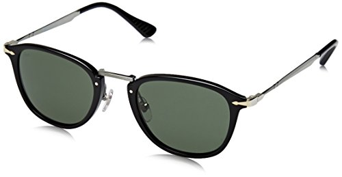 Persol PO3165S Sunglasses 95/31-50 - Black Frame, Green - Persol Black