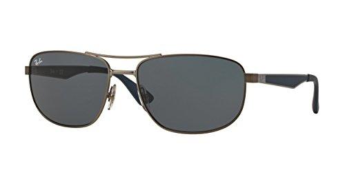 Ray-Ban 0RB3528 Square Sunglasses - Size - 61 (Dark - Ray Ban Goggles
