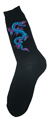 Dragon Foot (Foot Traffic - Fantasy Men's Socks (Dragon))