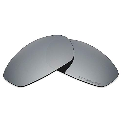 Mryok+ Polarized Replacement Lenses for Oakley Whisker - Silver ()