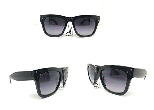 Roy Orbison sunglasses retro SUNGLASSES Black smoke faded - Roy Sunglasses