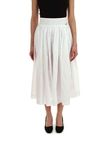 Woolrich Femme WWGON0332PO908641 Blanc Coton Jupe