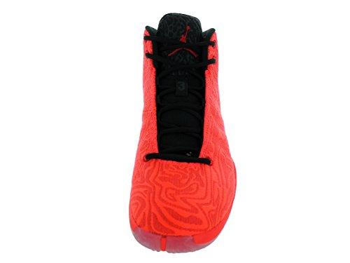 Jordan Nike Herren Super.Fly 4 JCRD Basketballschuh Turnhalle Rd / Blck / Lt Crmsn / Infrrf 23
