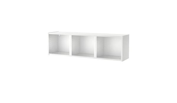 IKEA BILLY - Estantería de pared, blanco - 120x35 cm: Amazon ...