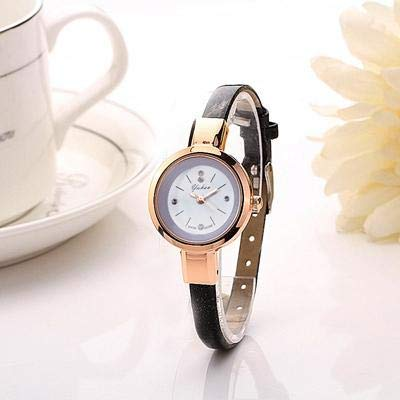 Amazon.com: Claudia Luxury Brand Women Fashion Gold Quartz Slim Band Dress Watches Hours reloj Mujer (Red): Cell Phones & Accessories