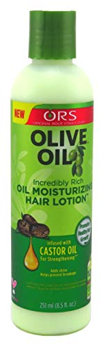 Organic R/s Root Stimulator Olive Oil Moisturizing Hair Lotion, 8 Ounce (Pack of 2)