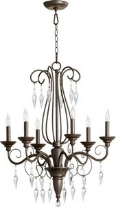 Vesta 6 Light Chandelier