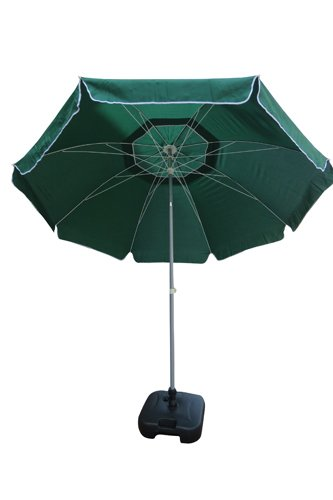6cdc09e1772f4 Buy Amaze 9' Tiltable Umbrella with 22 L. Capacity Hollow Plastic Stand  (Green) Online at Low Prices in India - Amazon.in