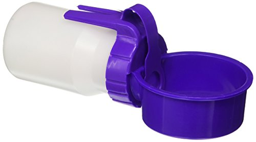 Waterer Seen On As Tv (Water Rover Smaller 3-Inch Bowl and 8-Ounce Bottle, Purple)