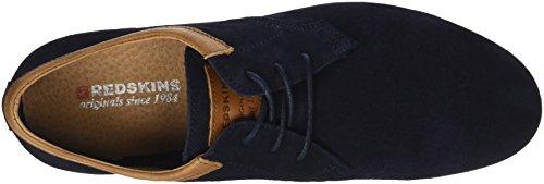 Redskins Herren Woron Sneaker Bleu (marine+cognac)