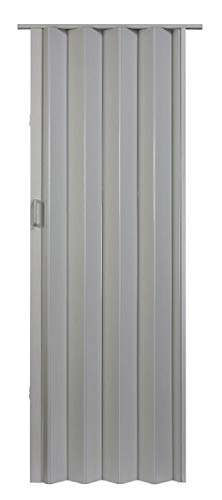 "LTL Home Products OK3680DG Oakmont Interior Accordion Folding Door, 36"" x 80"", Dove Grey"