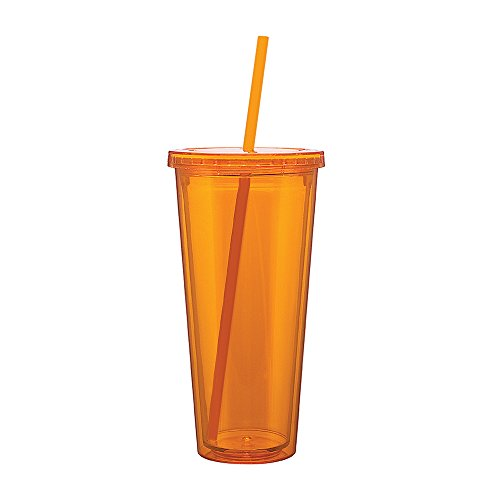 Eco Cold Drink Tumbler Tangerine product image