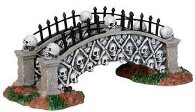Lemax Spooky Town Skull Bridge by Lemax