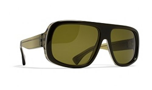 MYKITA Spreckels Sunglasses Color Dark Green/White/Fern - Eyewear Mykita