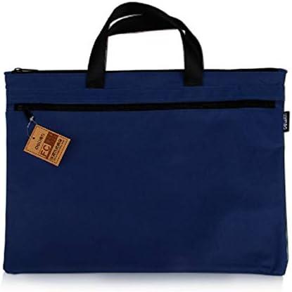 A4 ドキュメントバッグオフィス用品バッグキャンバスハンドバッグ男性のブリーフケース