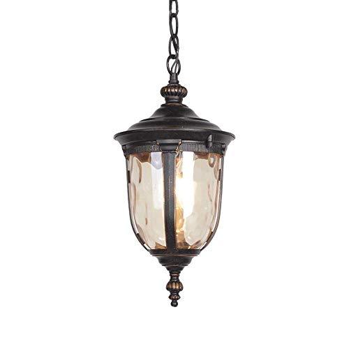 (YSJ LTD Waterproof Outdoor Pendant Lamps Courtyard Garden Balcony Europe Type Ceiling Lamp Pendant Drop Light Cafe Bar Loft Lamp)