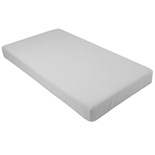 31ScDK5bfvL - Clevr Premium Memory Foam Baby & Toddler Crib Mattress With Waterproof Ultra Soft Bamboo Fabric Cover