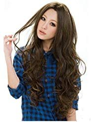 Sexy Womens Long Wavy Light Brown -