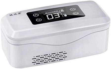 ZWH-ZWH ポータブル医療冷蔵庫ミニインスリンクーラー家庭用医薬品冷蔵庫 - トラベル/インターフェロンに適した(8.23x3.54x3.9インチ) 車載用冷蔵庫