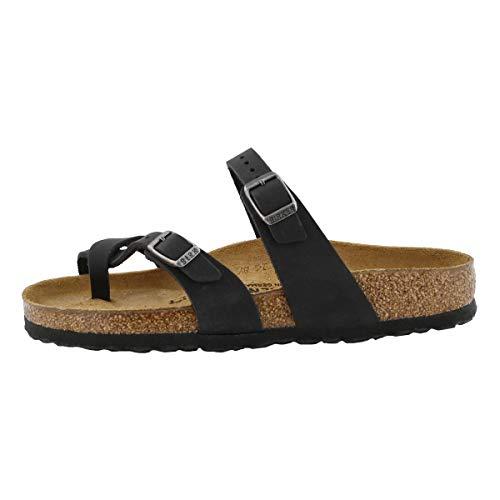Birkenstock Unisex Mayari Nubuck Black Sandals 9 W / 7 M US