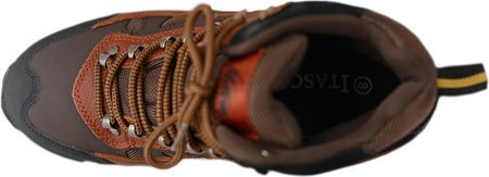 Itasca Mens Contractor Ii Toe Leather Work Fire and Safety Boot Brown hpuANw