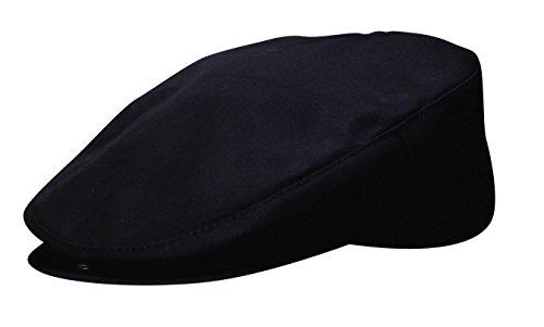 Cotton Poplin Ivy Hat Cap by DPC - (6 Different Colors), Black by DPC