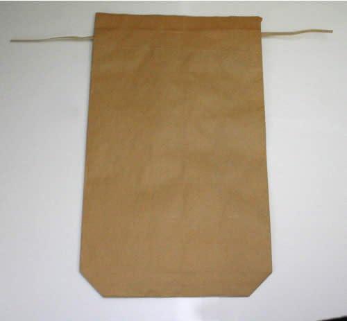 クラフト無地米袋(舟底・ヒモ付) 30kg 1000枚