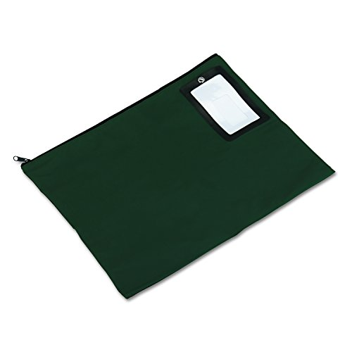 PM Company Flat Dark Green Transit Sack, 18 Inches Width x 14 Inches Height (04649) by PM Company