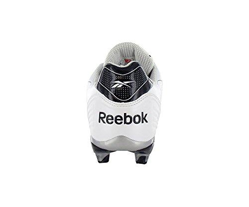 Zapatillas De Fútbol Reebok Pro Burner Speed iii Low Sd3 Para Hombre (13, Blanco / Negro)