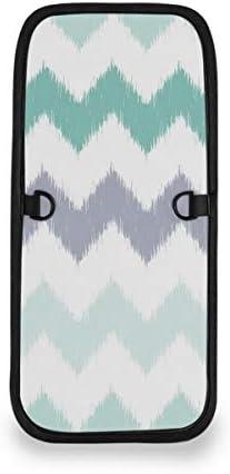 トラベルウォレット ミニ ネックポーチトラベルポーチ ポータブル グリーン グレー ストライプ 小さな財布 斜めのパッケージ 首ひも調節可能 ネックポーチ スキミング防止 男女兼用 トラベルポーチ カードケース