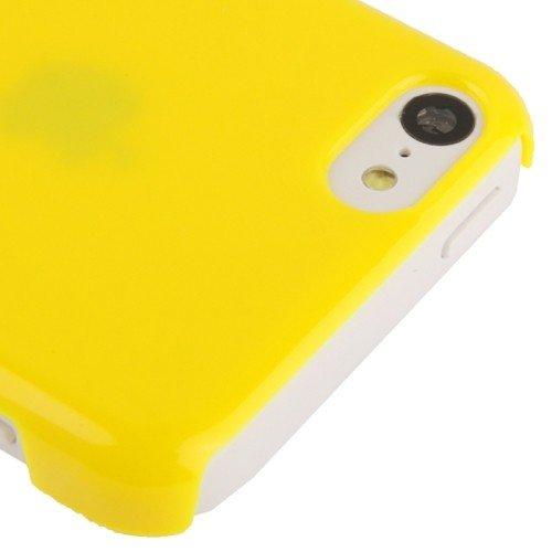Schutzhülle Hard Case für Handy Apple iPhone 5C gelb