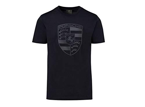 Porsche Genuine Crest Shirt - Black - Large from Porsche