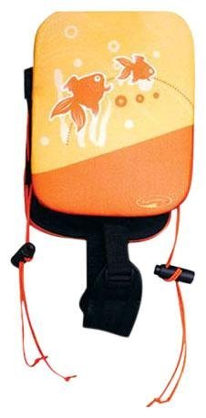 (SwimWays Power Swimr Swim Float - Medium (Orange Fish))