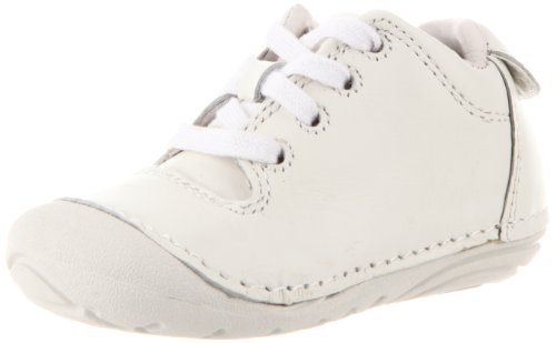 Stride Rite Soft Motion Freddie Bootie (Infant/Toddler),White,3.5 W US Toddler