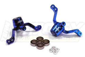 Integy RC Model Hop-ups T8625BLUE Front or Rear Steering Blocks for Tamiya CR01 (Steering Integy Block)