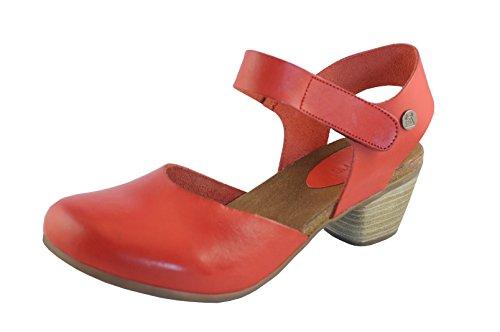 Jonny's Sapata Damen Sandalen rojo Leder Größe 40