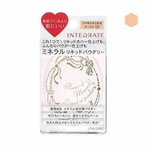 (Shiseido Integrate Mineral Liquid Powdery Foundation Press Powder (OC 10) 10g)
