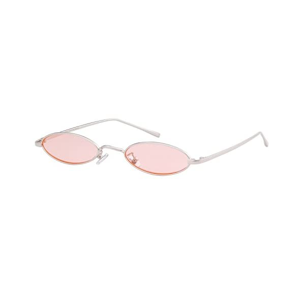 Oval Sunglasses Vintage Retro Sunglasses Designer Glasses for Women Men 2