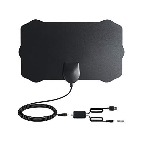 Vosarea HD Digital TV Antena 4k HDTV Antena Activa Interior Antena Amplificador de señal Amplificador de Antena Control...