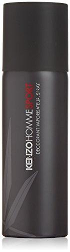 Kenzo Homme Sport Deodorant Spray for Men, 5 Ounce ()