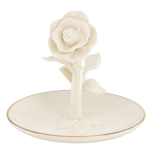 Lenox Rose Ring Holder