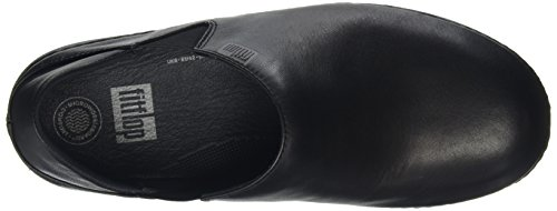 Fitflop Superloafer Leather, Mocasines para Mujer Negro (all Black)