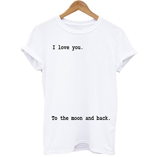 Wuke I Love You To The Moon And Back Short Sleeve T-shirt
