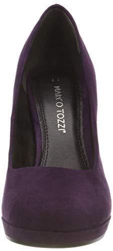 Morado Zapatos 22441 Tozzi Marco De 508 Para 31 Tacón purple Mujer qSfn8Cw